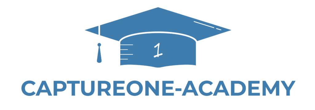 Capture One Academy Logo blau png